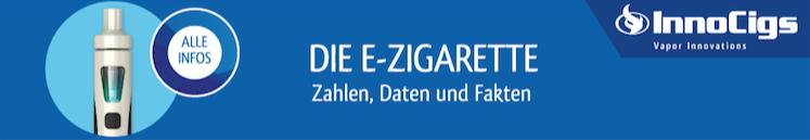 Banner-Link zum E-Zigaretten Fakten PDF Dokument