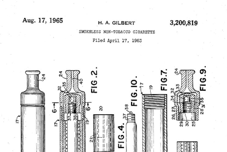 Die Geschichte der E-Zigarette seit 1963 - ja, wirklich!