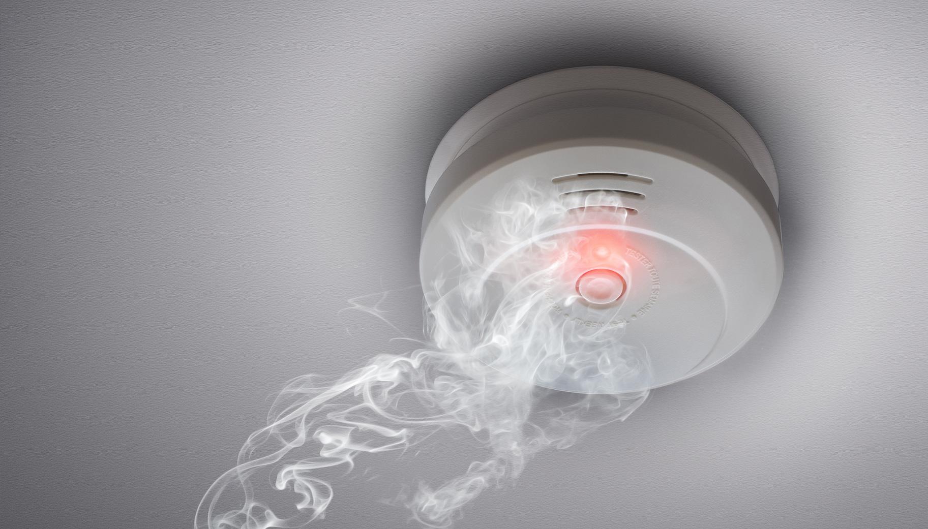 Rauchmelder E-Zigarette Dampf