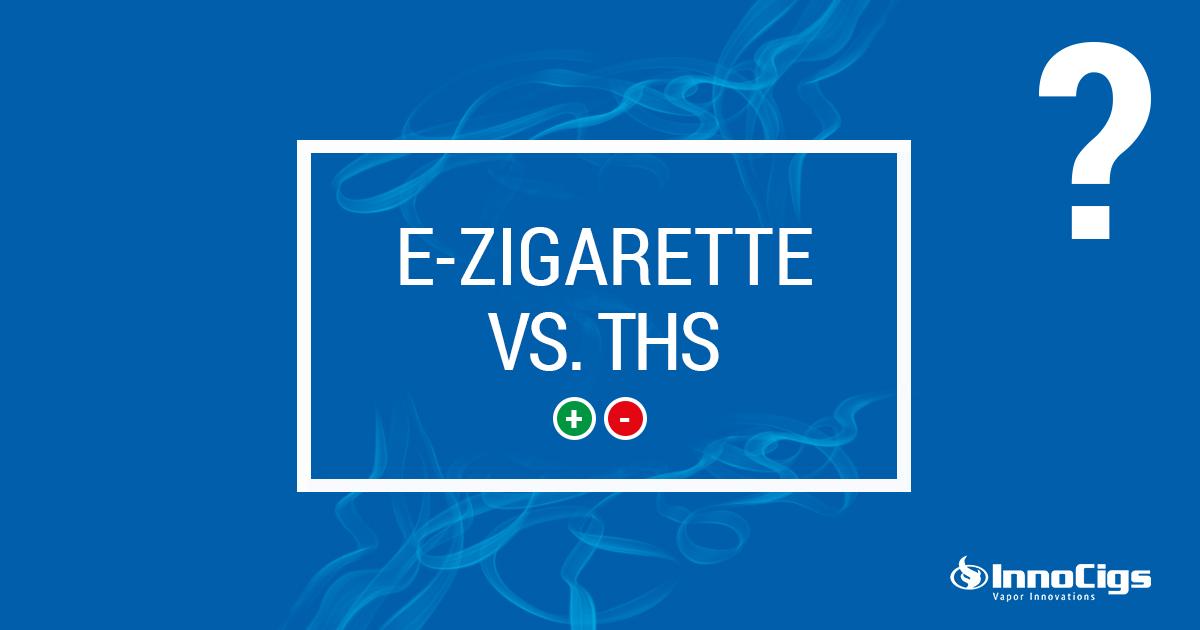 Tabakerhitzer im Vergleich mit der E-Zigarette