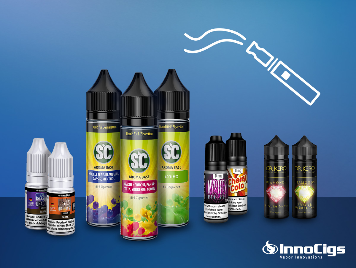 Welche E-Zigaretten Liquids gibt es?