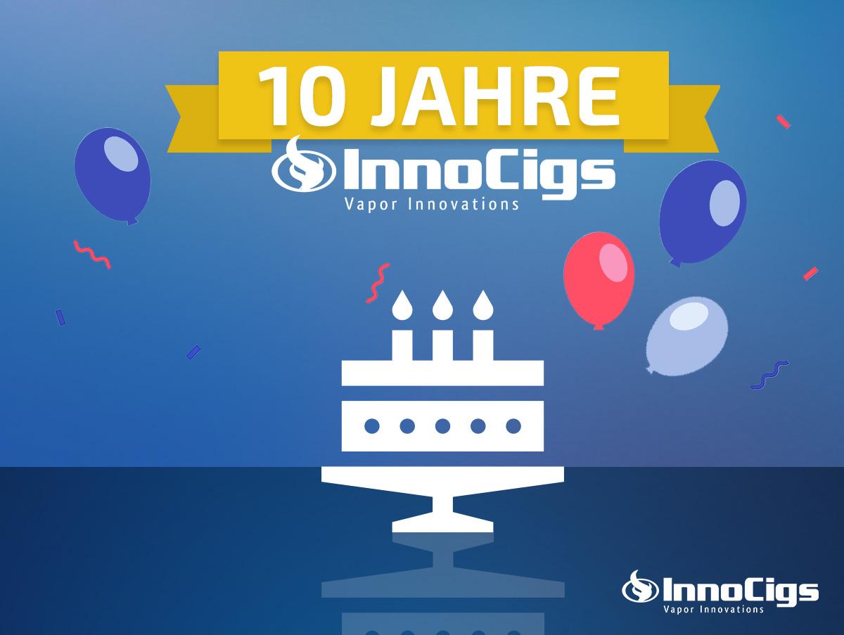 10 Jahre InnoCigs: Aus Überzeugung und Leidenschaft!