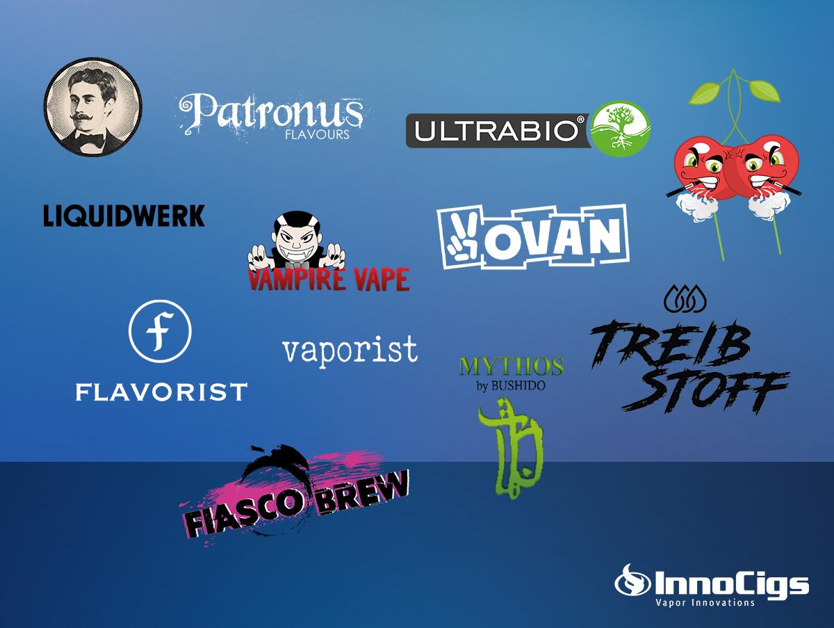 5 bekannte Liquid-Marken – Welche Hersteller stecken dahinter?
