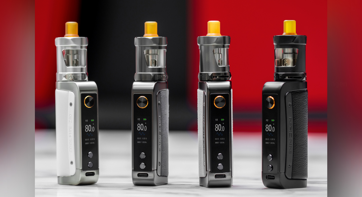 Die E-Zigarette zum Dampfen mit Wechselstrom