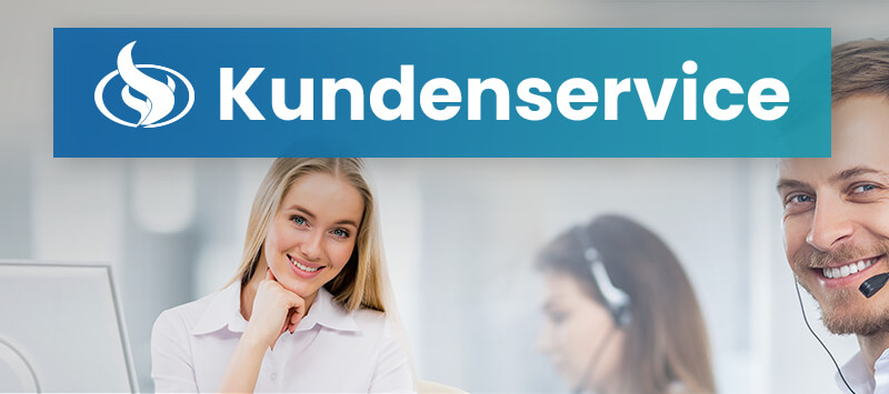 Kundenservice header mobile